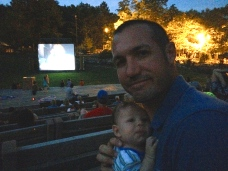 Outdoor movie!