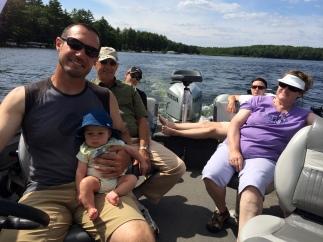 Cruisin around the lake