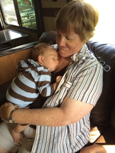 Snoozin' with Grandma
