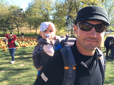 We decided to take my friends to Ferguson's Orchard to go pumpkin hunting.