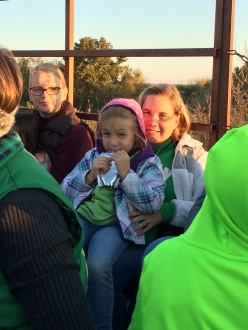 Hayride at Maggie's house.