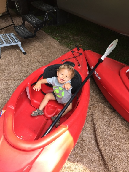 Future kayaker.
