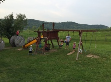 The Pizza Farm playground!