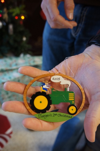John Deere ornament