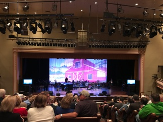 Listening to country classics at the Ryman