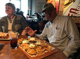 More nachos for Grandpa!