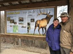 The Elk viewing area.