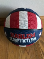 Yes! A Harlem Globetrotter's basketball!