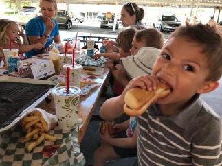 I LOVE a good hot dog!