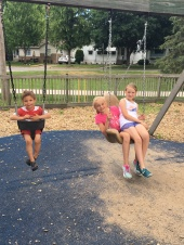 Swinging with Cortney and friends
