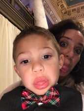 Silly faces continued!
