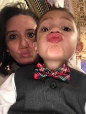 Silly faces with Aunt Nay Nay!