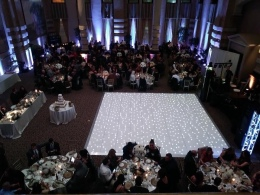 Now that's a dance floor!