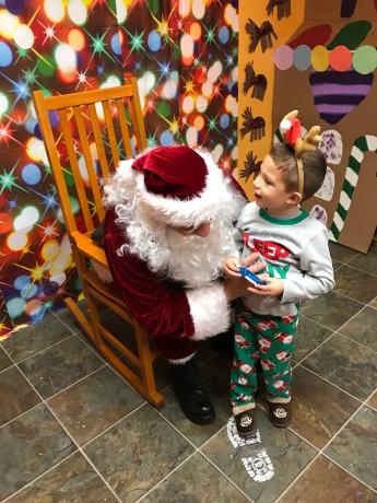 """Listen up, Santa. I need..."""