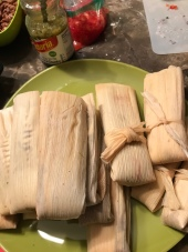 Steam-ready tamales, made with love.