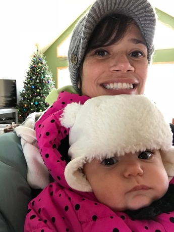 Getting all bundled up!
