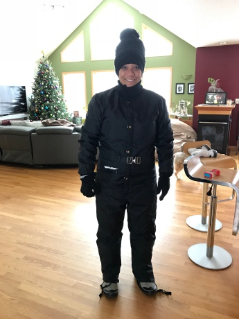 Ready for the cold.