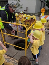 Touch-a-Truck visit