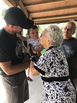G meets Great Grandma