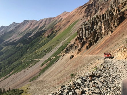 Braving Ophir Pass