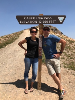 California Pass: 12,960 Feet