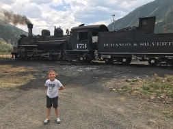 The Durango & Silverton Train