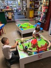 Last stop: Toy Store!