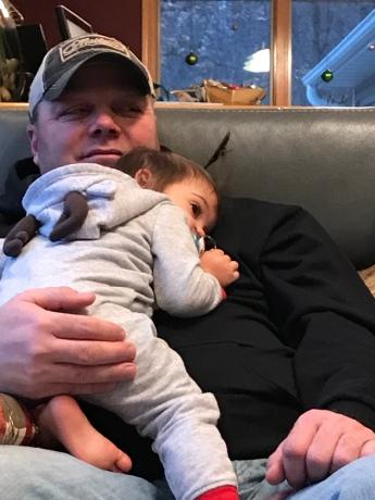 Cory/Genesee snuggles