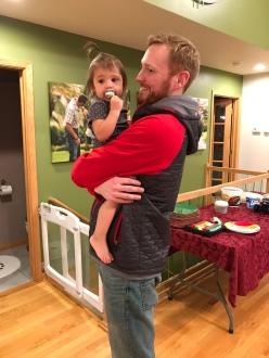 Ryan/Genesee snuggles