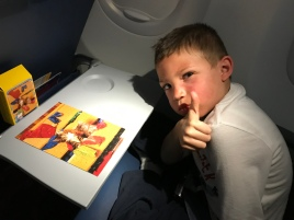 But happy to work on puzzles in the plane.
