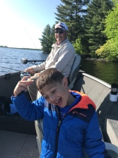 Fishing with Dad and Grandpa