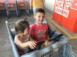 We love a good shopping cart