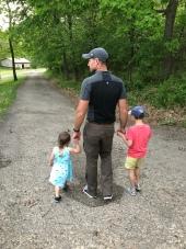 Summer walks with Dad