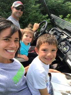 Family 4-wheelin'