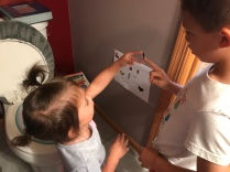 G's potty training sticker chart