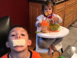 The proper way to eat garlic bread