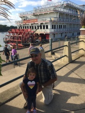 Riverside with Grandpa
