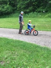 Practicing without training wheels