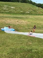 Slip 'n slide!