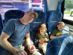 Our bus ride from Montego Bay to Ocho Rios