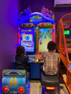 Racing at the Playroom