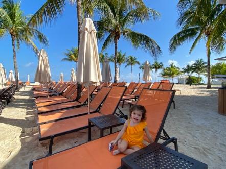 Our own, private beach