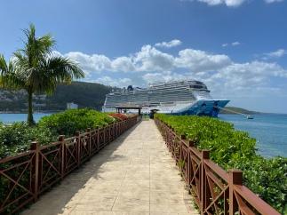 Cruise ship watching